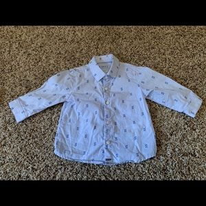 Mayoral infant boys dress shirt